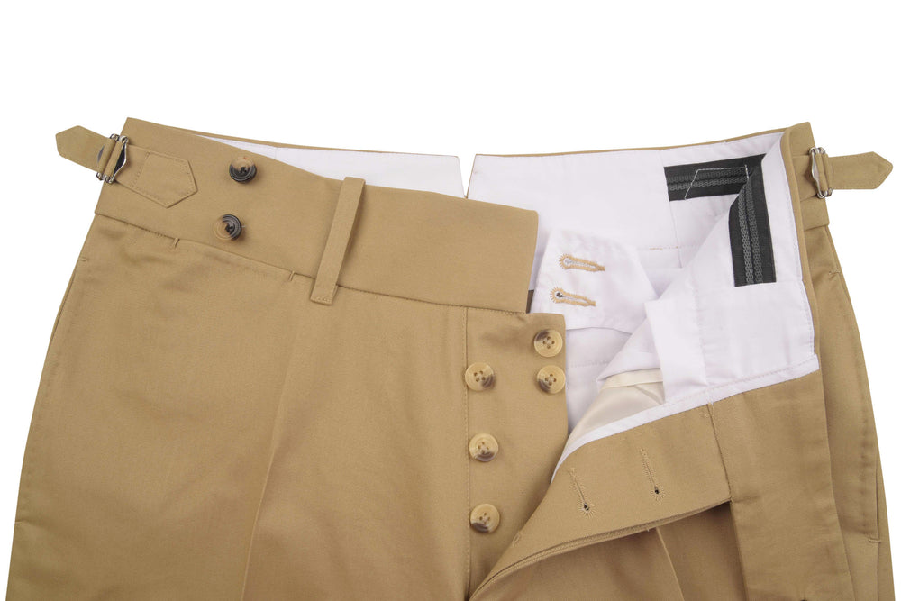 Soft Khaki Twill Light Chino (307345221)