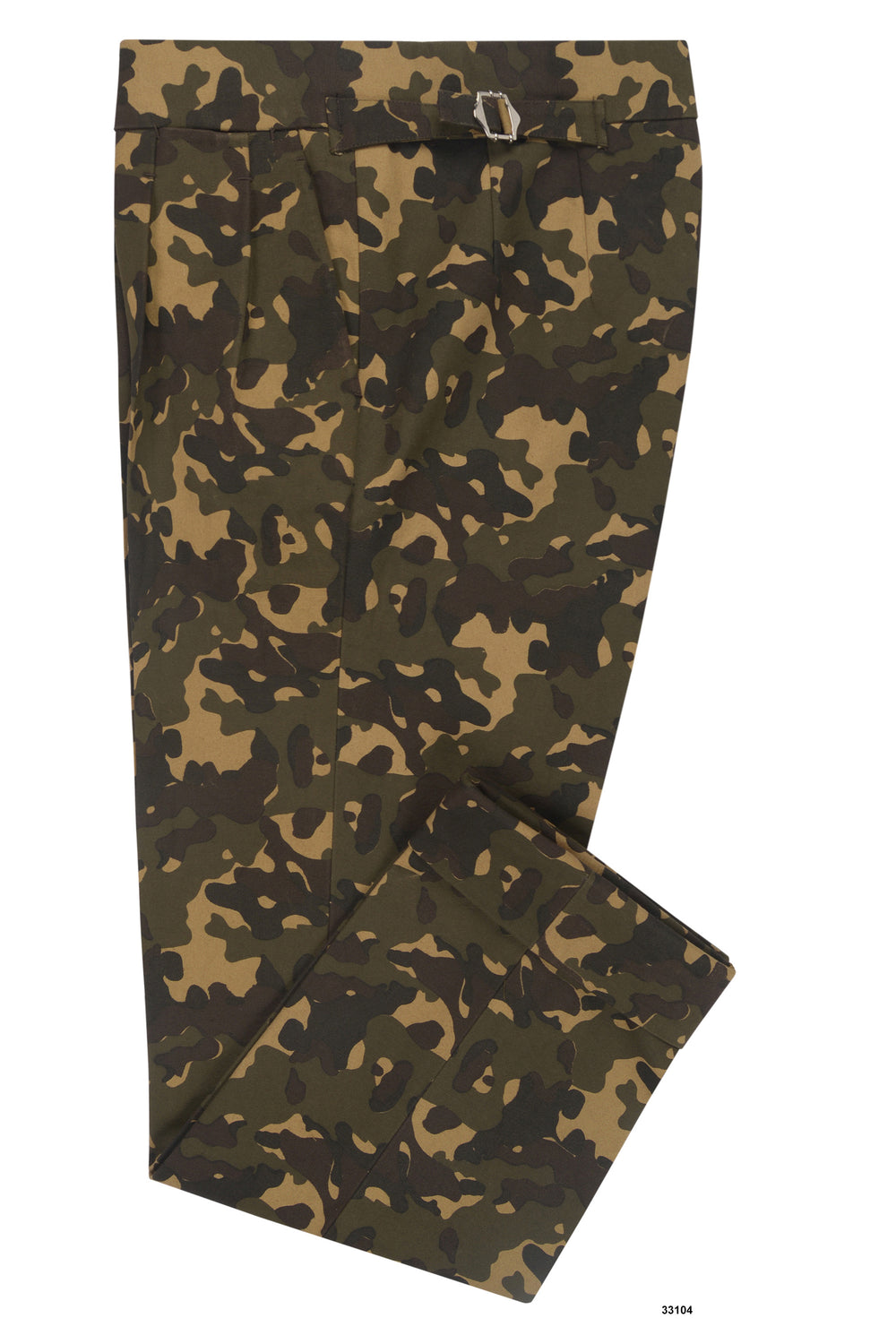 Jungle Camo Duck Canvas