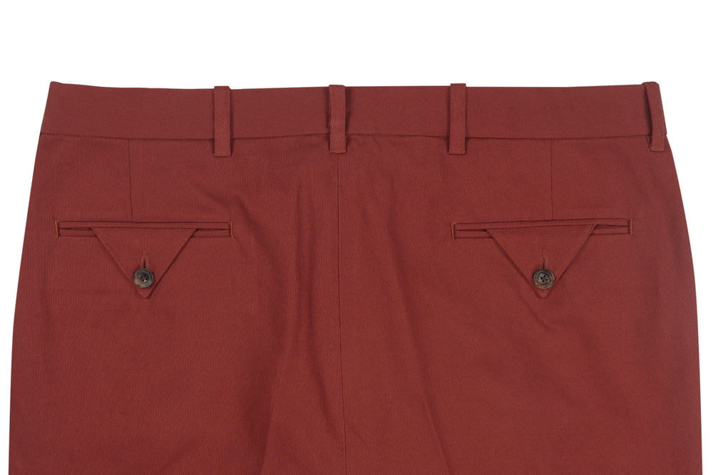 Brisbane Moss Maroon Cotton Cavalry Twill (387918788)