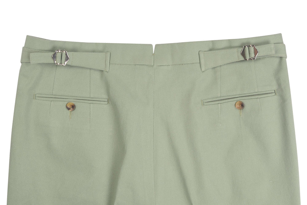 Laurel Green Twill Pants