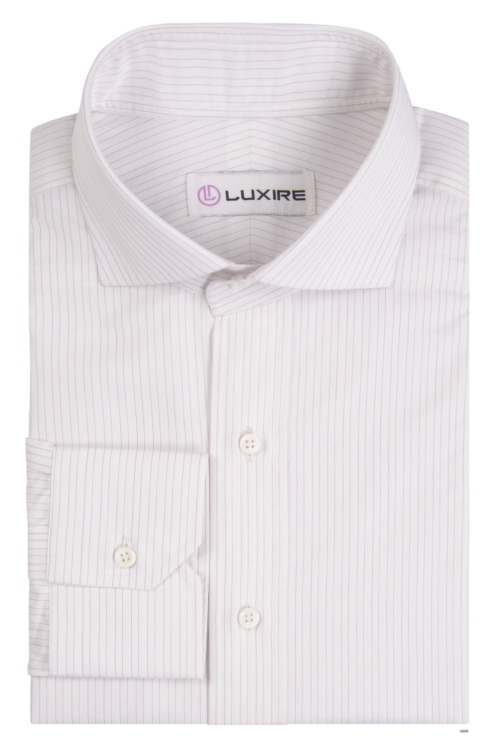 Pink Pin Stripes on White (297231277)