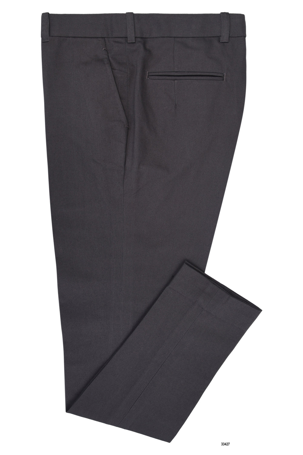 Charcoal Grey Twill Pants