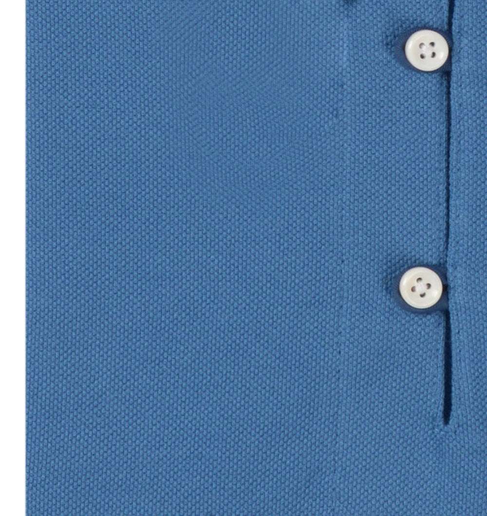 Azure Blue Polo T-shirt