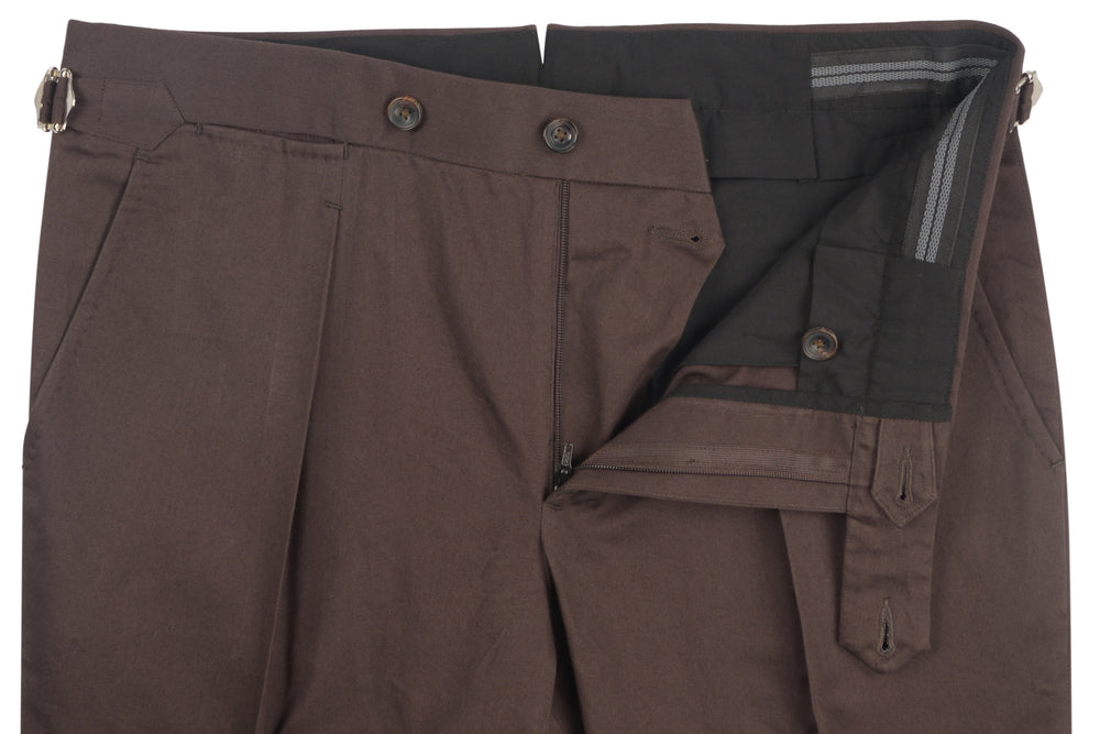 Chocolate Brown Soft Chino