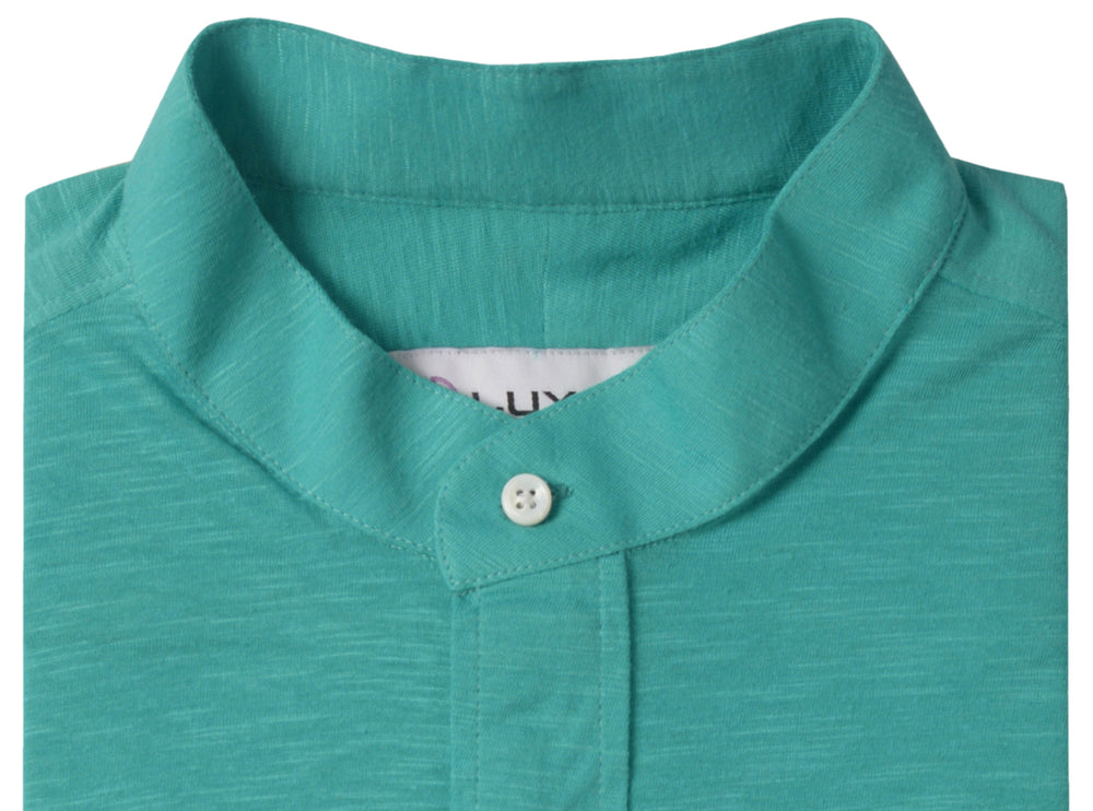 Turquoise Green Polo T-shirt