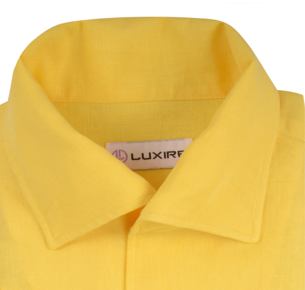 Sun Flower Yellow Linen Cotton (279786053)