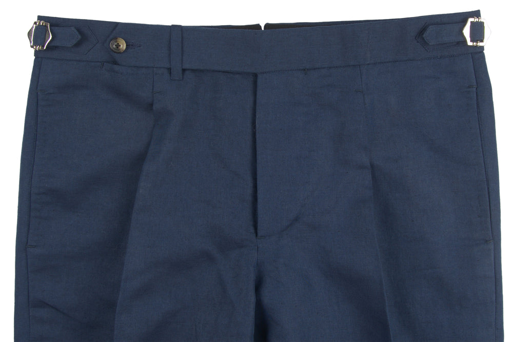 Dark Navy Linen Pants