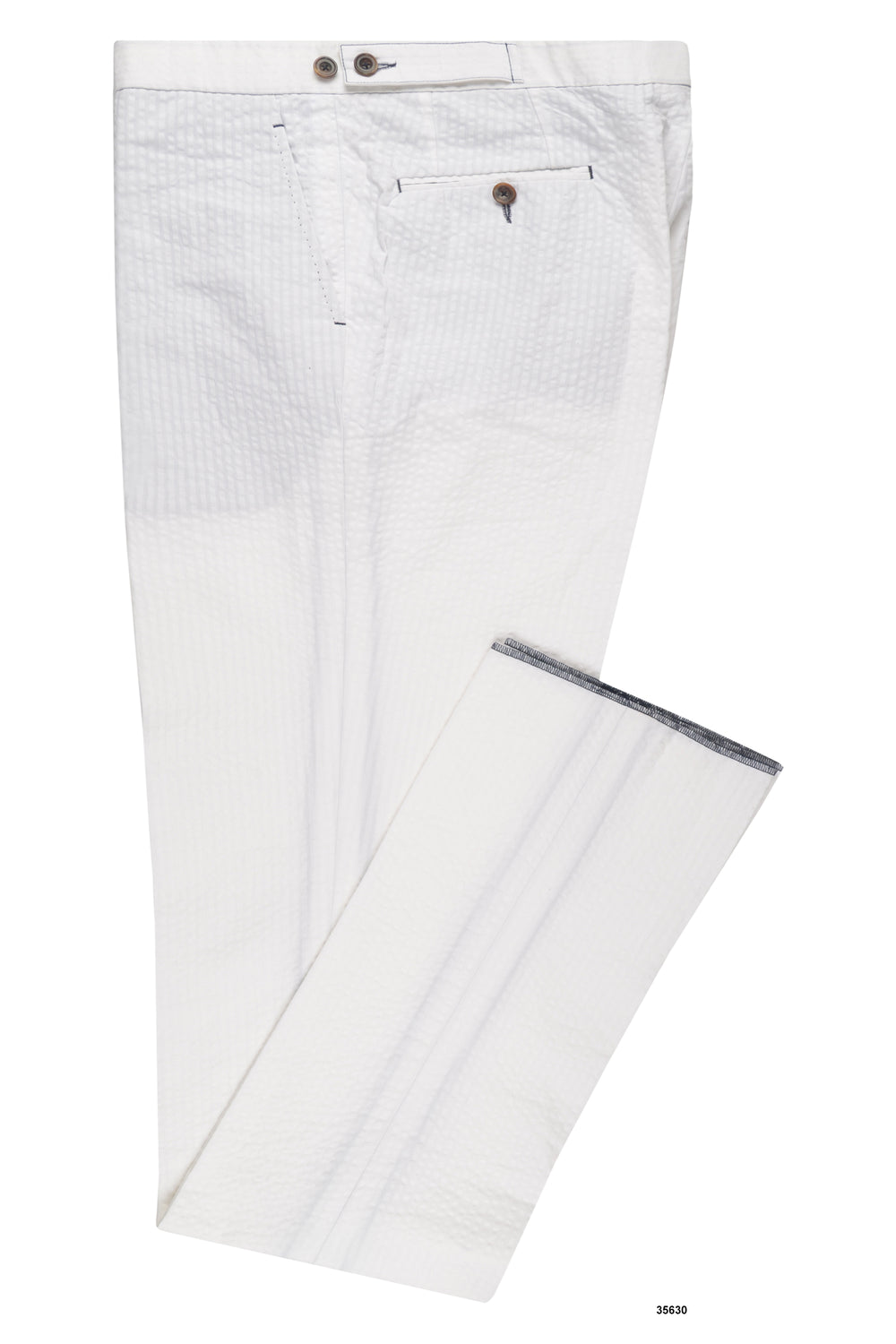 White Seersucker Summer Pants (105046343688)