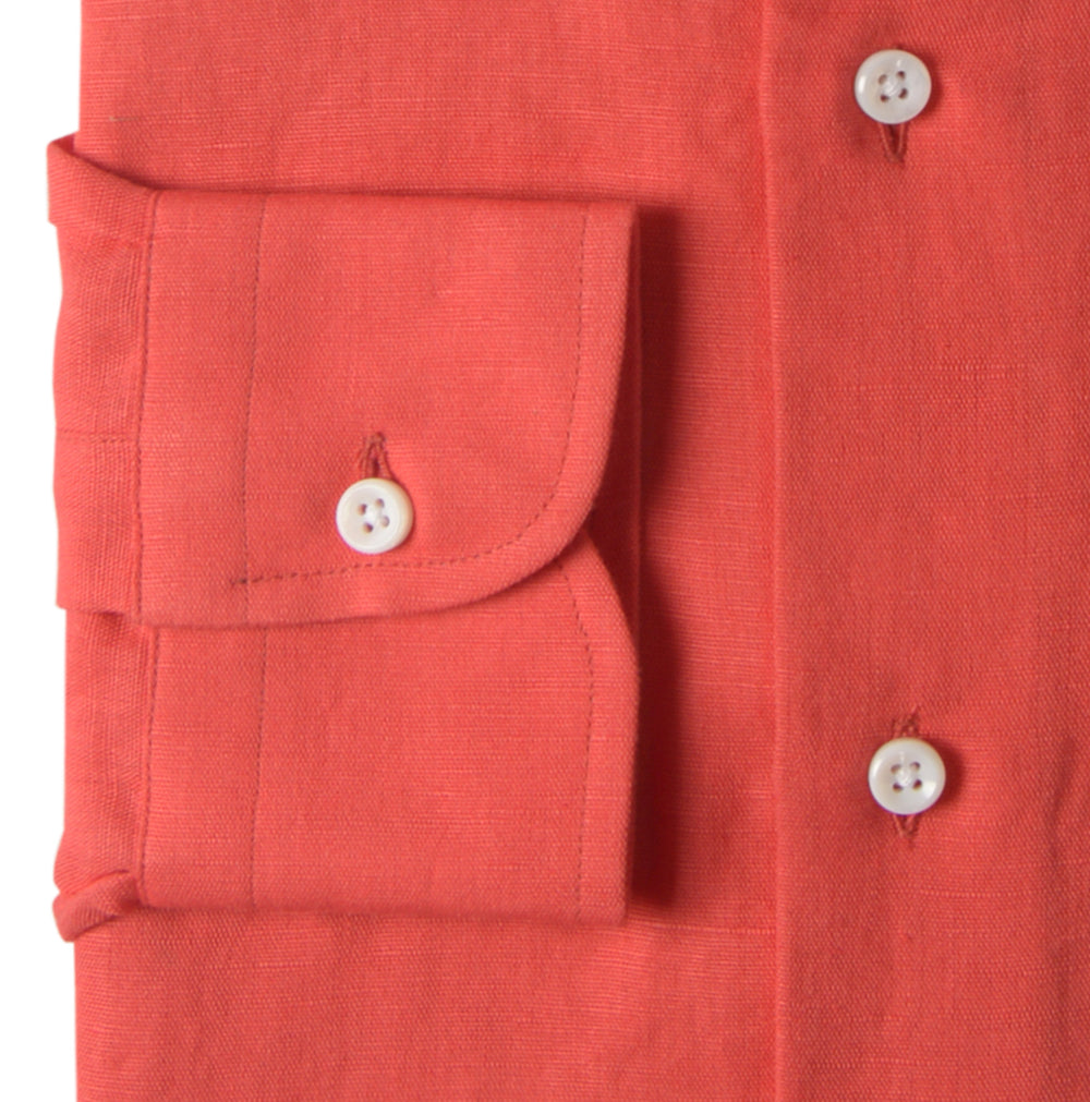 Salmon Cool Linen Cotton