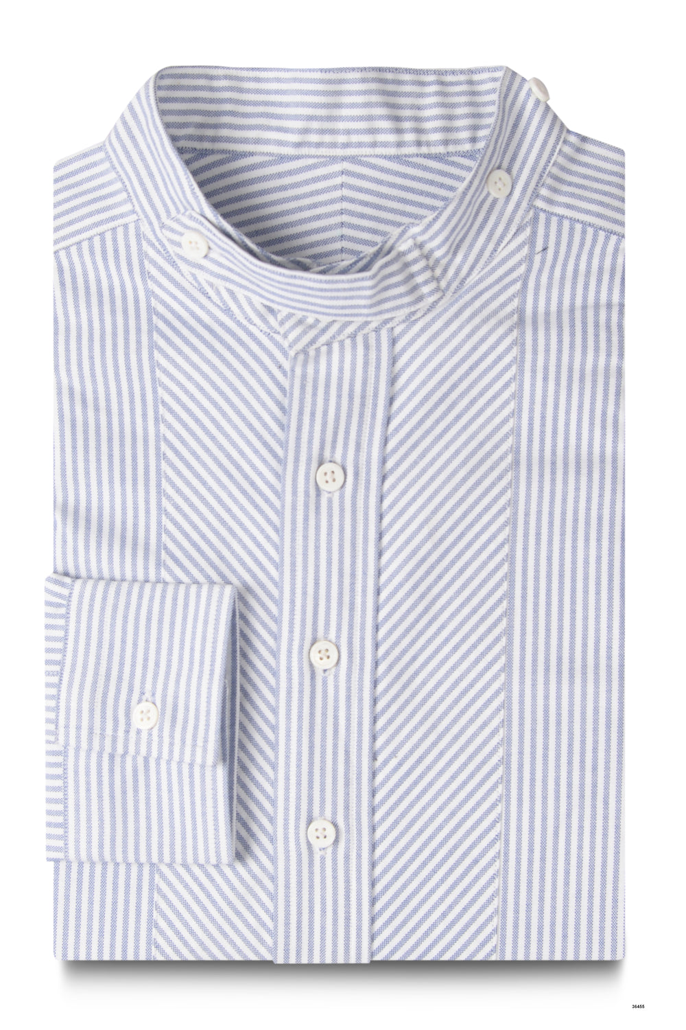 Blue Stripe Oxford