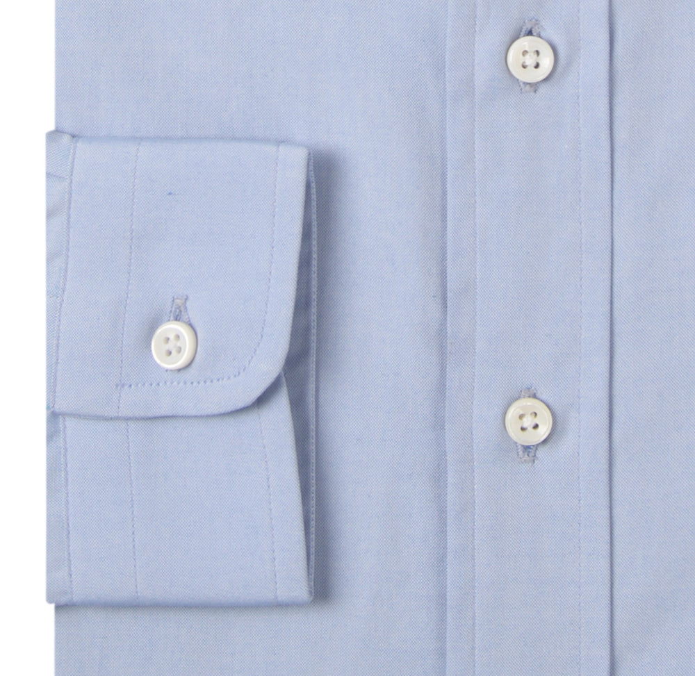 Blue Pinpoint Oxford (147836048)