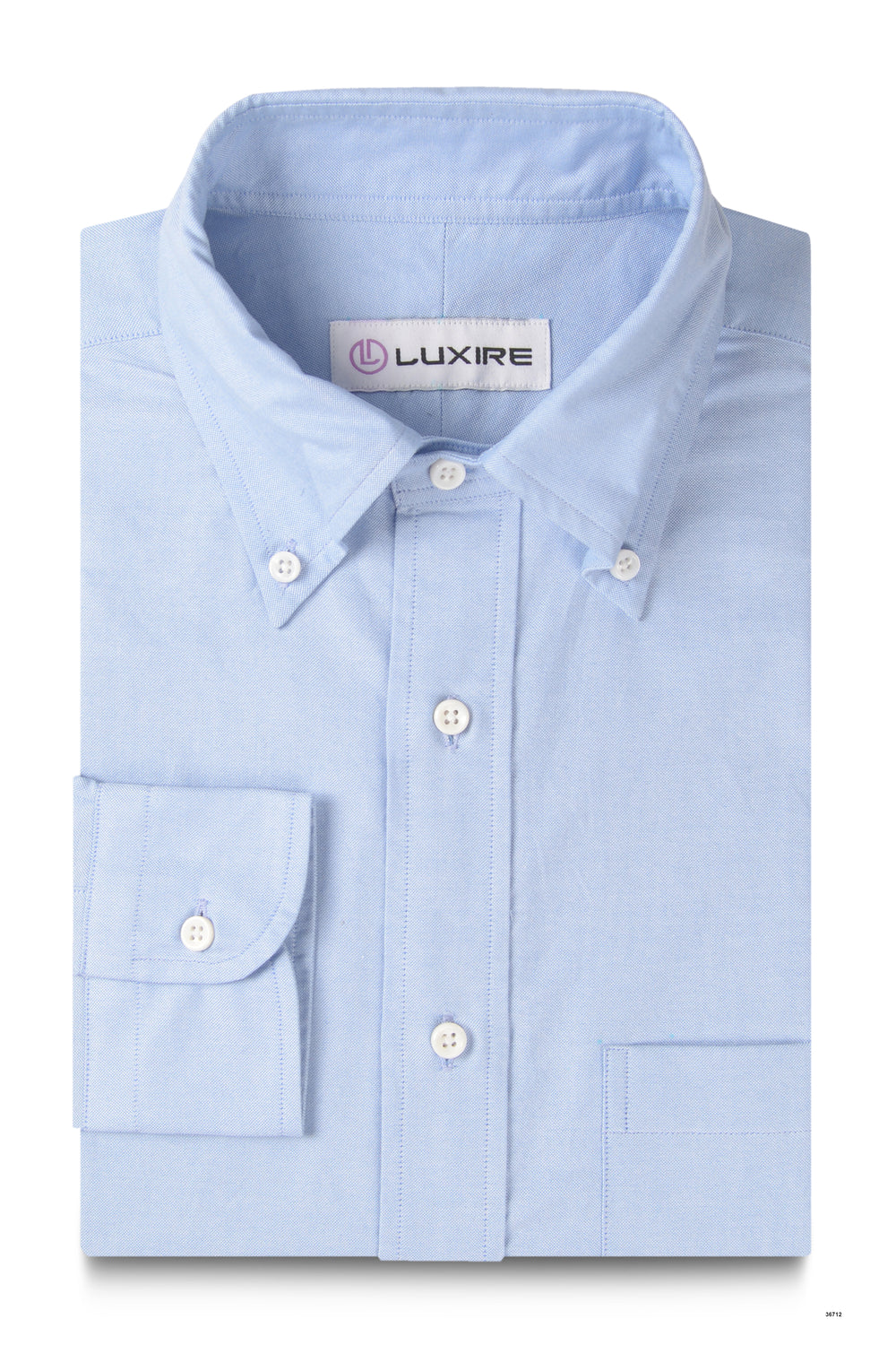 Classic Blue Summer Oxford