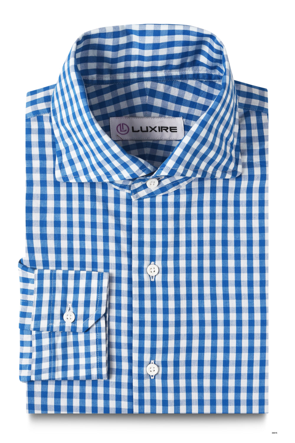 White Blue Gingham Checks (4572319876)