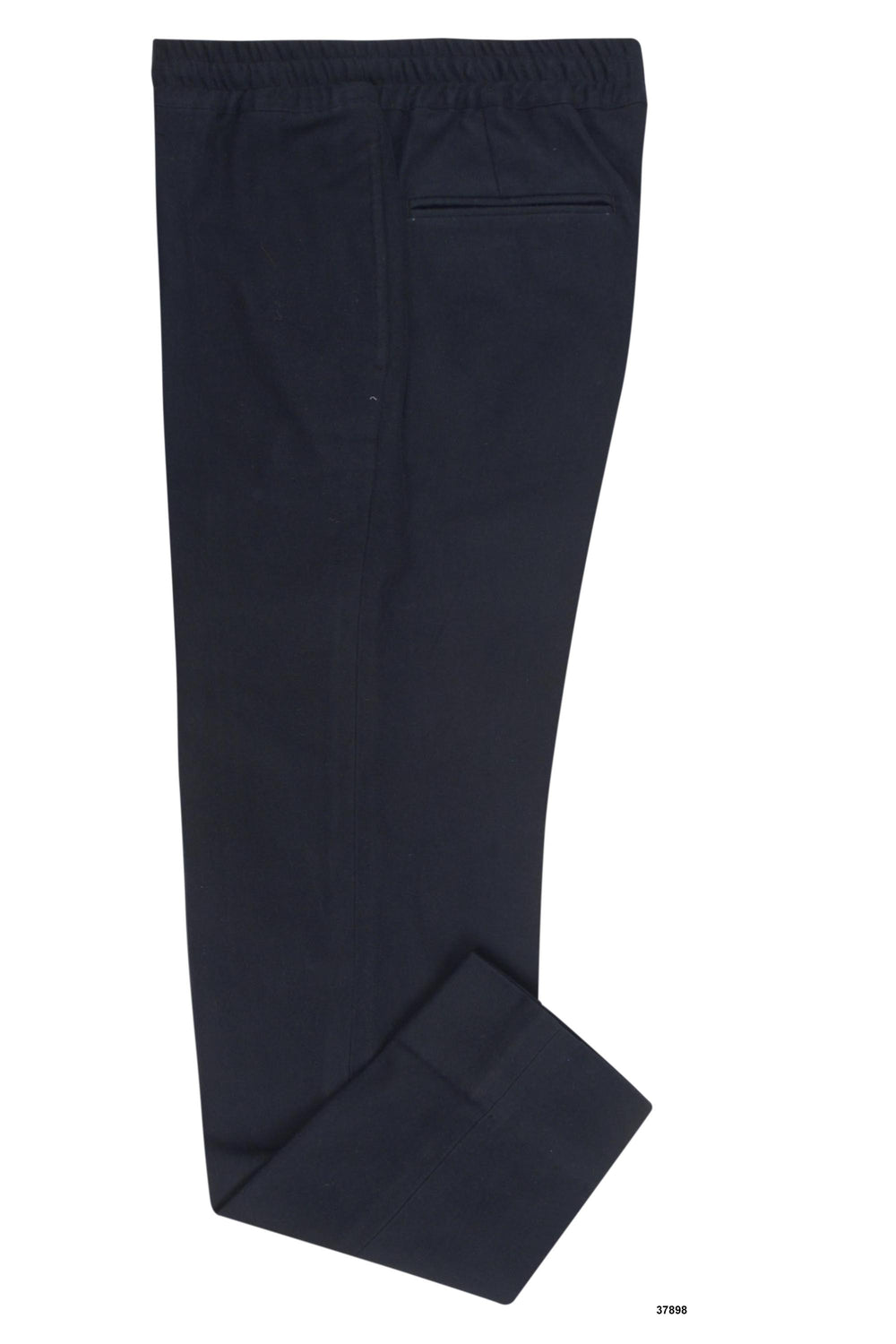 Dark Midnight Navy Flannel Pants