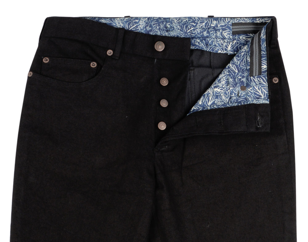 Sondrio Cotton: Black Heavy Denim Twill (4372704165943)