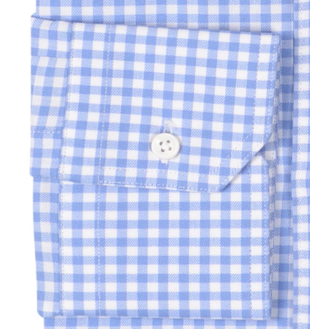 Sic-Tess Soft Light Blue Gingham