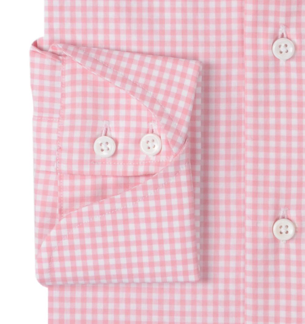 Rose Pink Light Gingham (363695177)