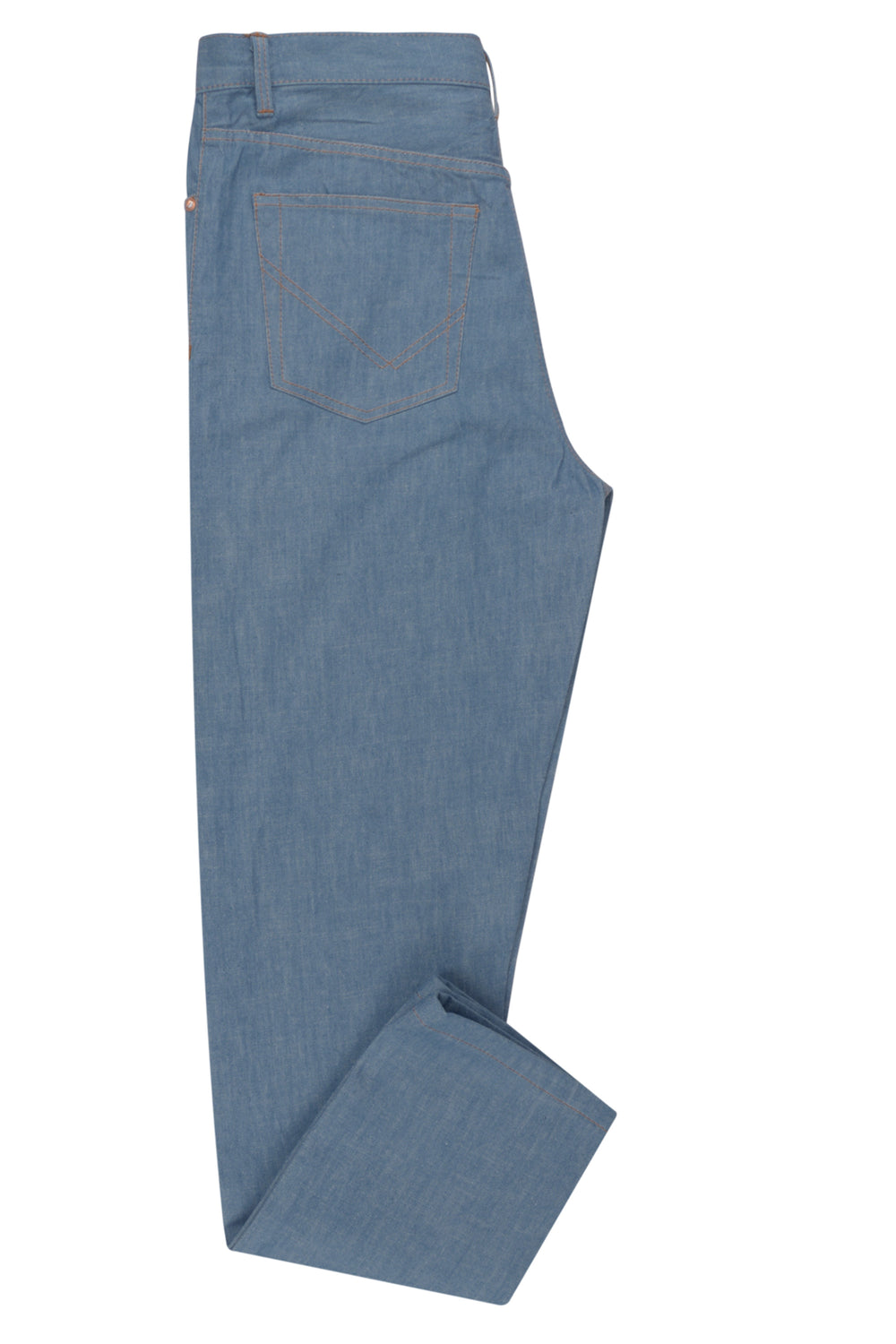 Light Blue Selvedge Jeans - 13 Oz (350995273)