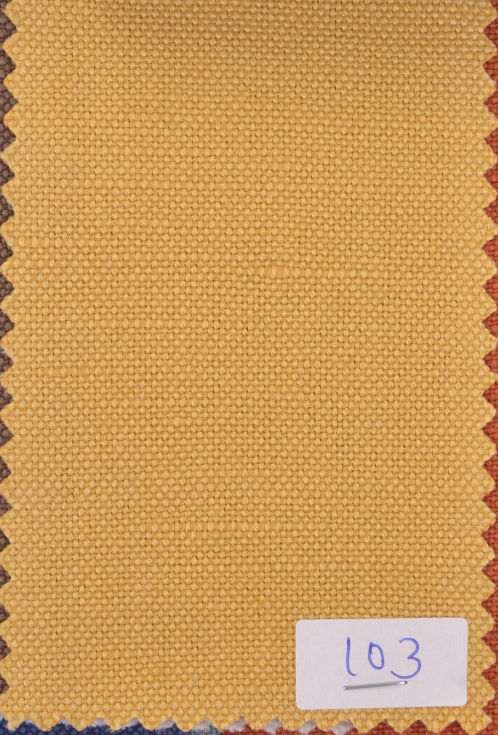Linen Cotton Canvas:Golden Yellow
