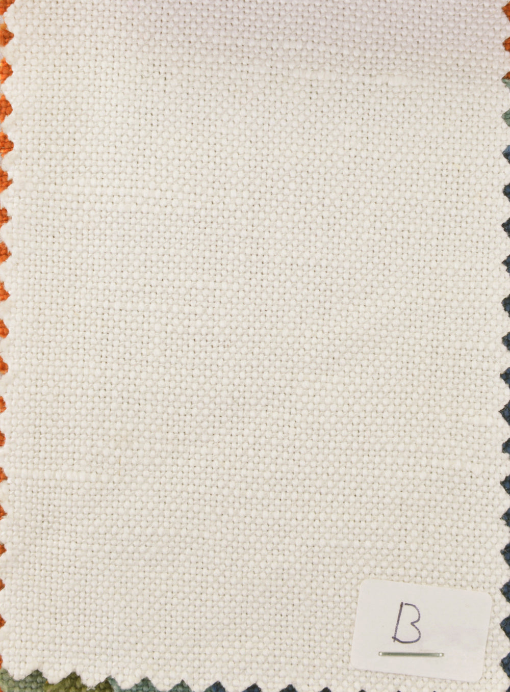 Linen Cotton Canvas:Muslin White
