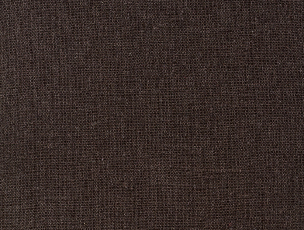 Dugdale Linen:Chocolate Brown Plain