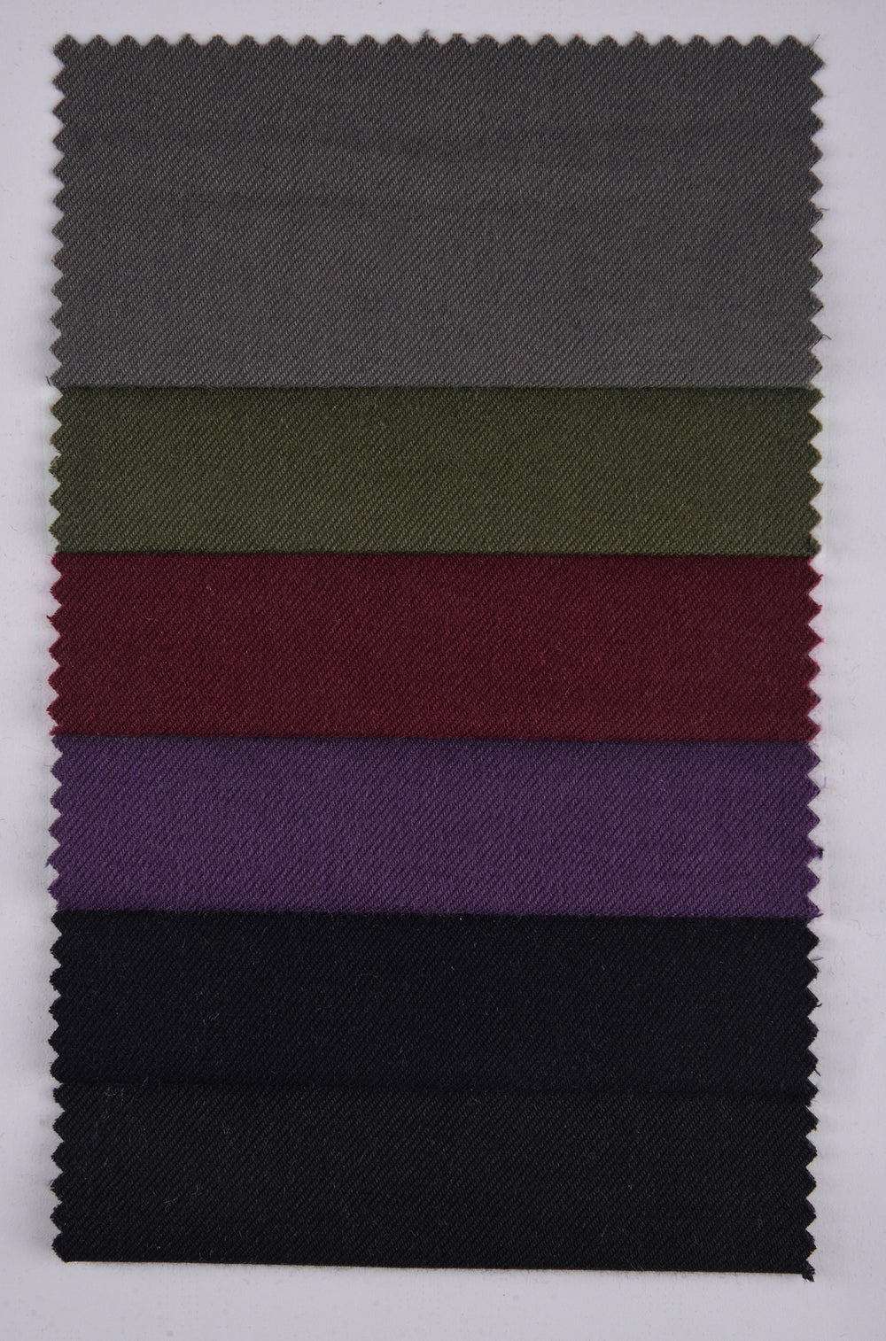 Cashmerello Alumo: Dark Purple Cotton Twill