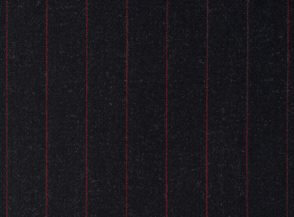 Dugdale Royal Classic - Maroon Stripe on Grey Background