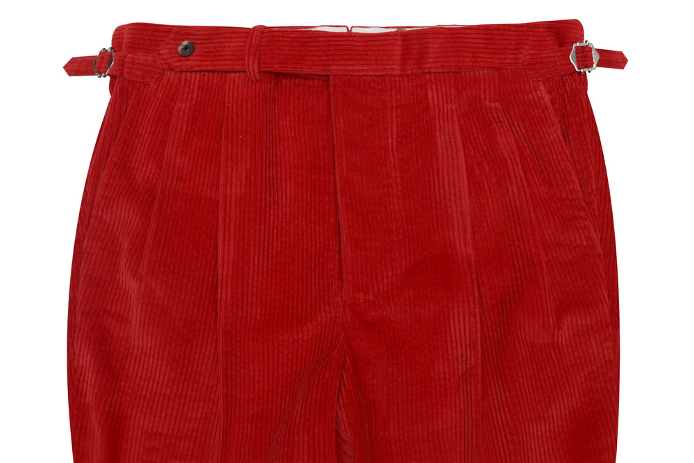 Bright Red Corduroy 6 Wale (1931139908)