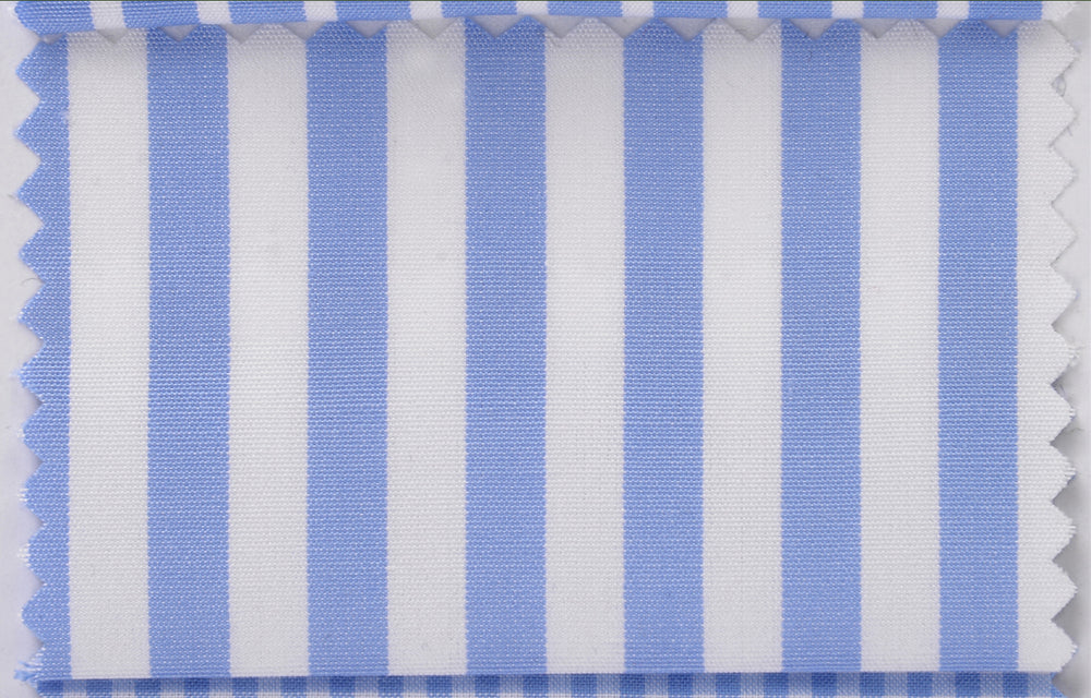 Canclini Squire London Easy Plus: Light Blue Bengal Stripes