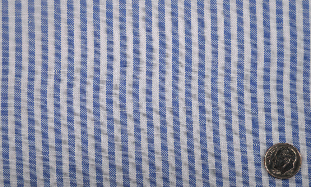 Canclini Blue Candy Stripes Shirt