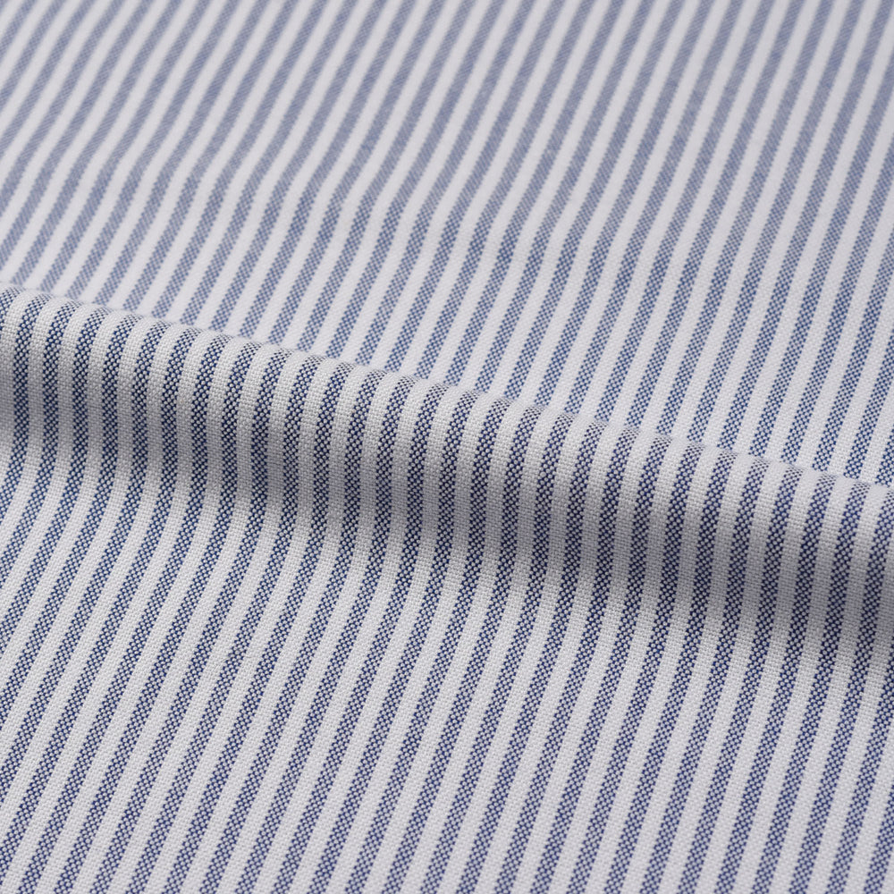 Business Blue Candy Stripes Oxford