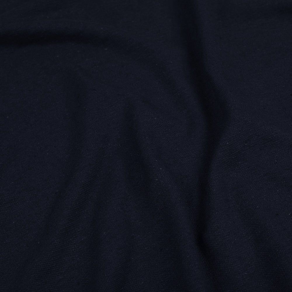 Navy Polo - Linen Cotton
