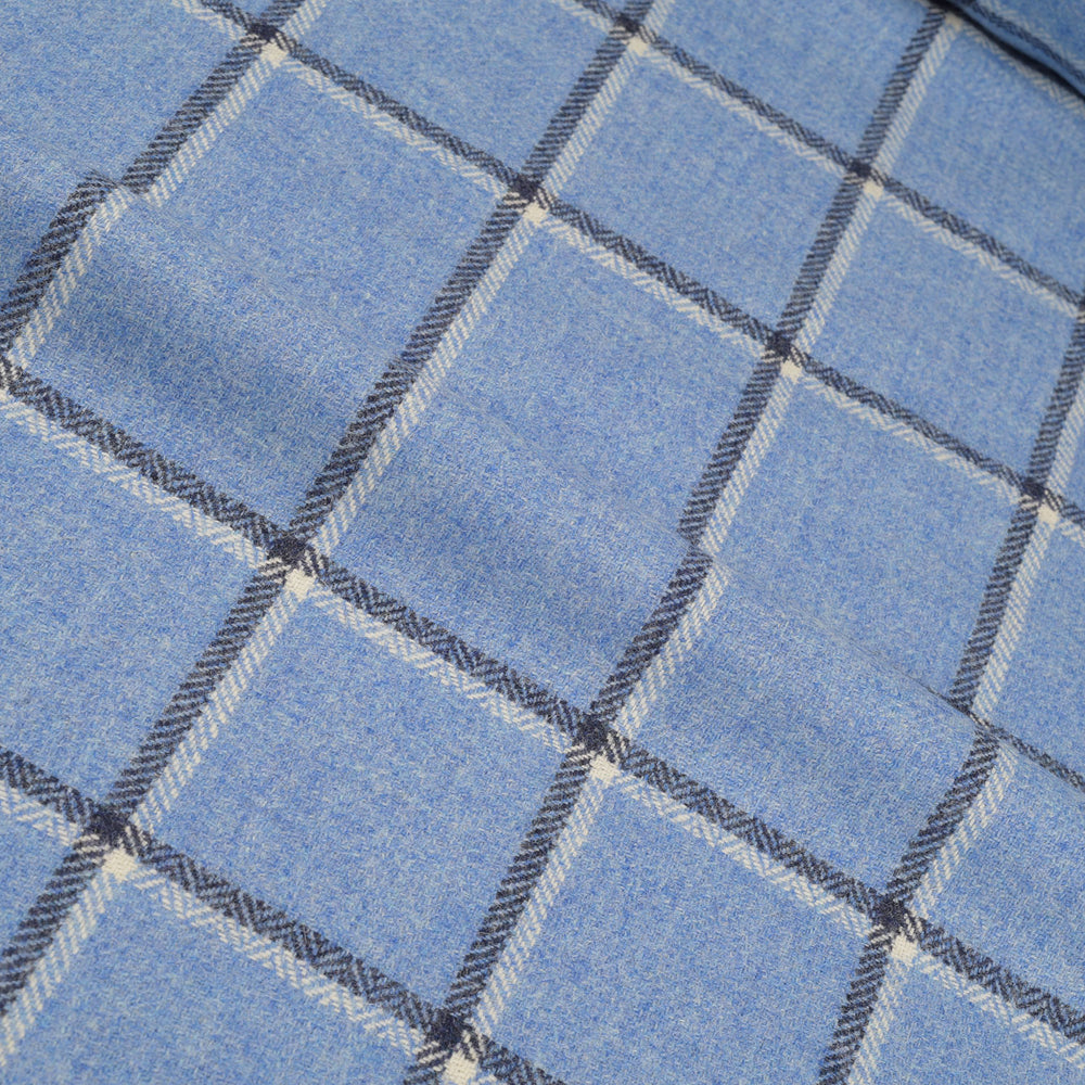Dugdale Tweed: Blue Windowpane