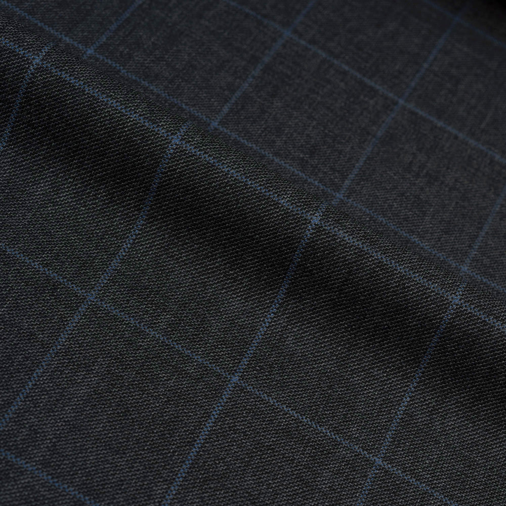 Dugdale Royal Classic: Grey Windowpane Jacket
