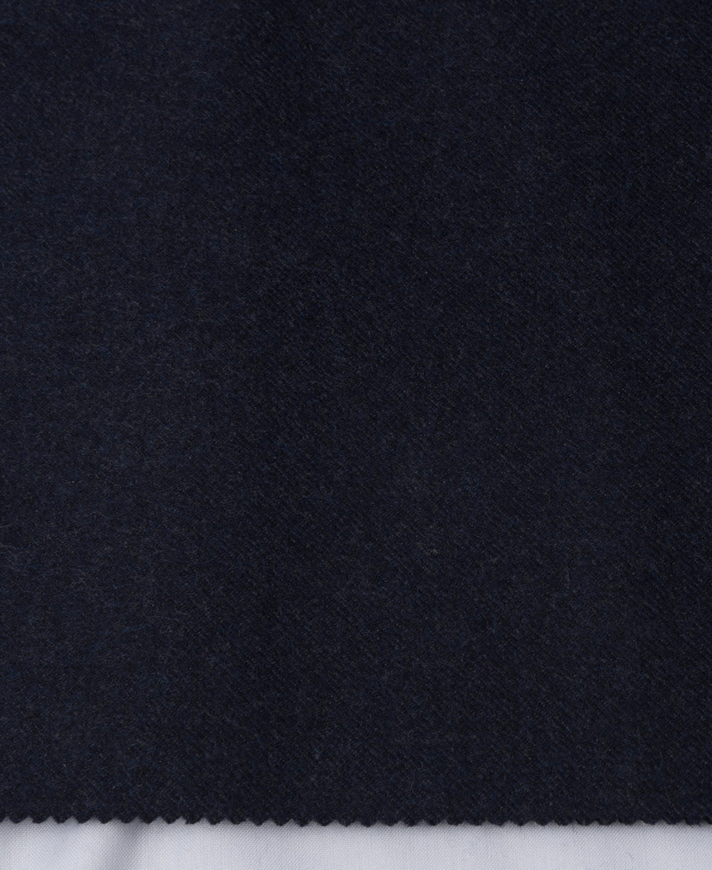 Dugdale  Wool Worsted Flannel Heather Navy