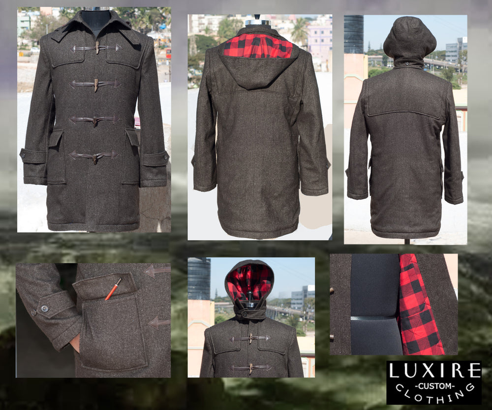 Luxire Wool Duffle Coat