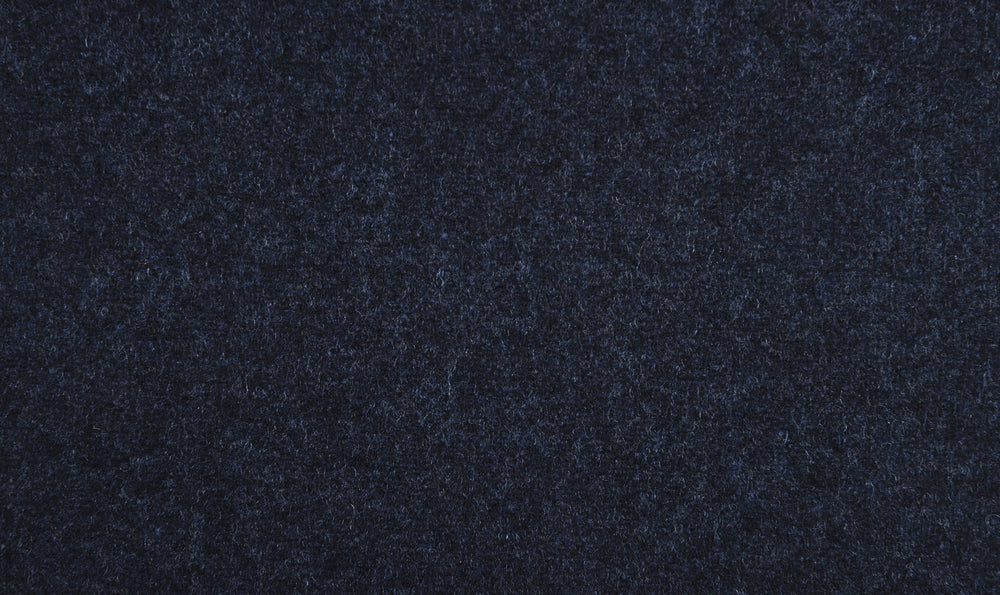 EThomas Wool Cashmere: Dark Blue Wool