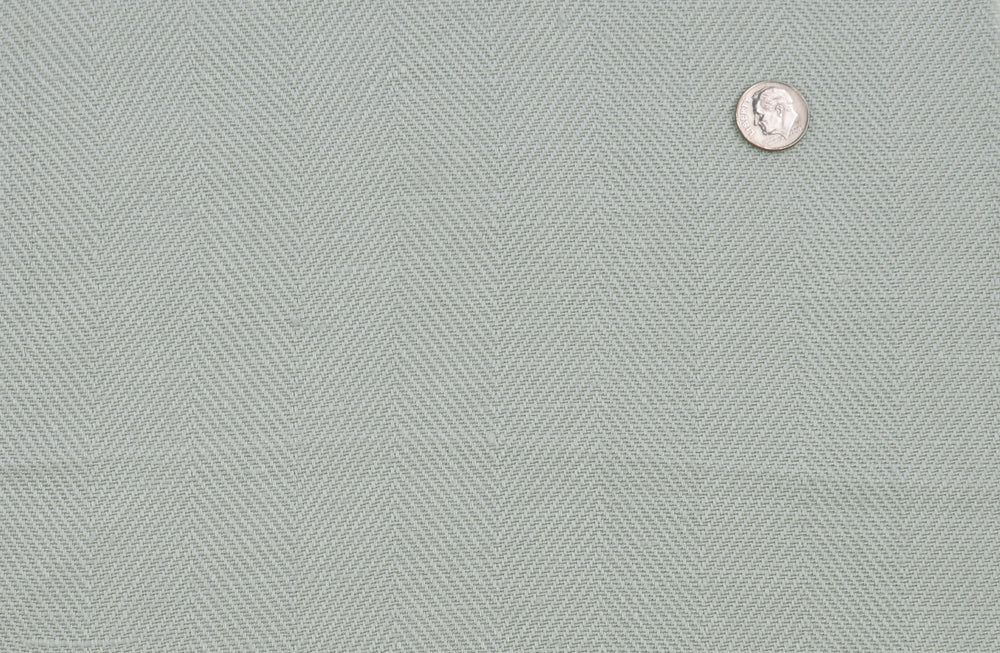 Linen: Sea Mist Heavy Herringbone
