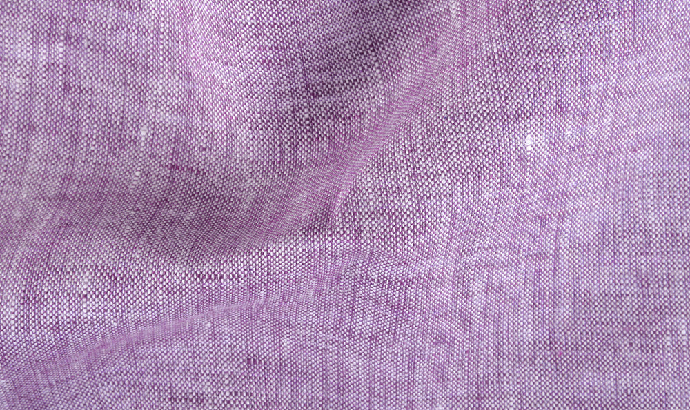 Linen: Purple Chambray