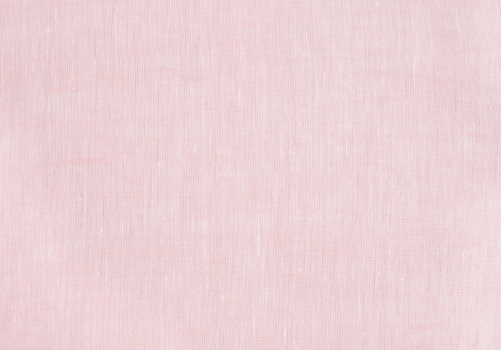 Linen: Pale Pink End on End