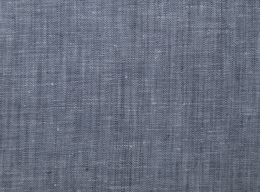 Linen:Grey Twill Chambray Jeans