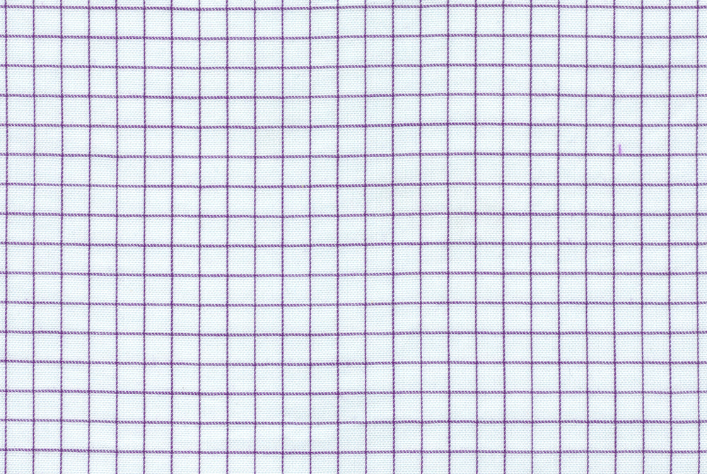 White Purple Graph Checks