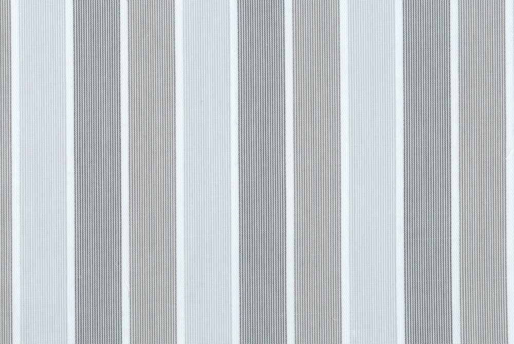 Shades Of Grey Tape Stripes With Silk