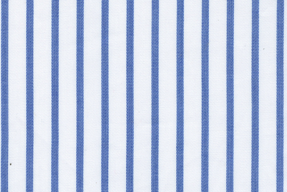 White Blue Dress Stripes (112635972)