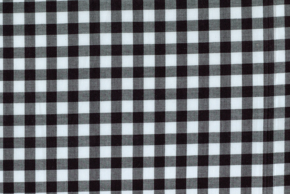 Summer Black White Gingham