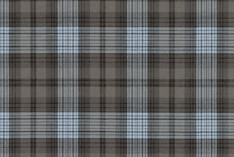 Summer Brown Grey Plaid