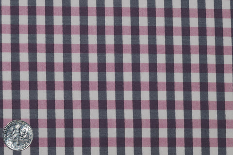 Pink Navy Gingham