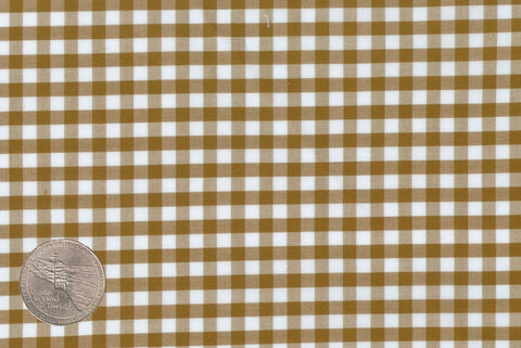 Light Brown Gingham