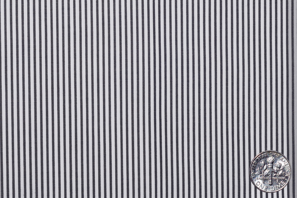 Black Pencil Stripes