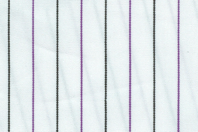 Purple Black Pin Stripes On White